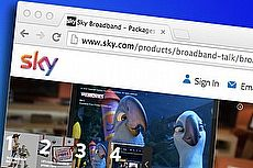 sky broadband browser