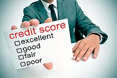 credit score report card