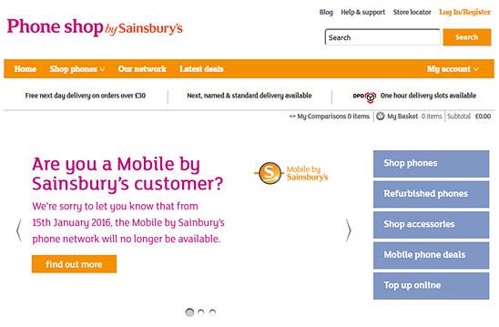 sainsbury mobile ending relationship